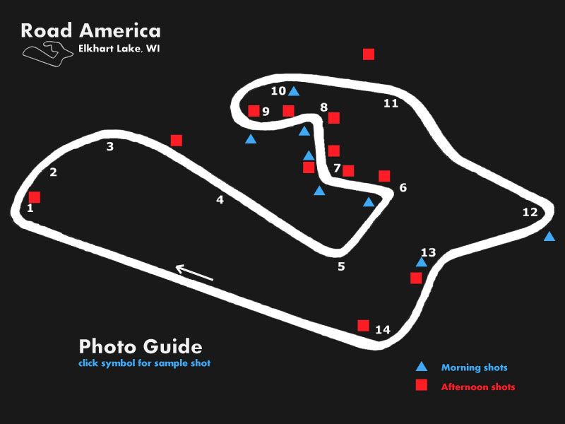 Photo guide to Road America